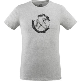 Millet Old Gear TS Camiseta Manga Corta Hombre, heather grey